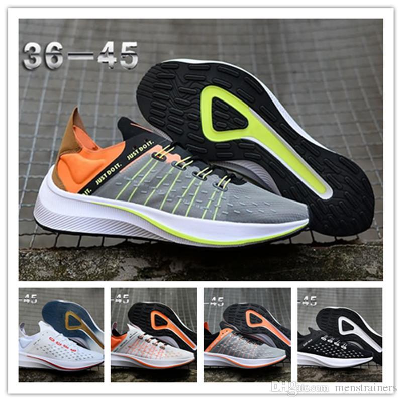 quality design 91134 01593 2018 EXP X14 CR7 Mens Running Shoes New React WMNS Womens Lunar Epic React  Designer Shoes Man Sport Just Do It Trainers Eu36-45