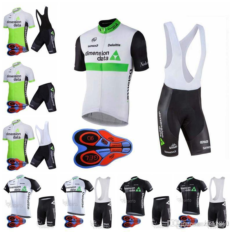 DIMENSION DATA Team Cycling Short Sleeves Jersey Bib Shorts Sets 9D Gel Pad  Can Be Wholesale Men s Hot Selling Mountain Bike Riding F DIMENSION DATA  Cycling ... 0e63d11cb
