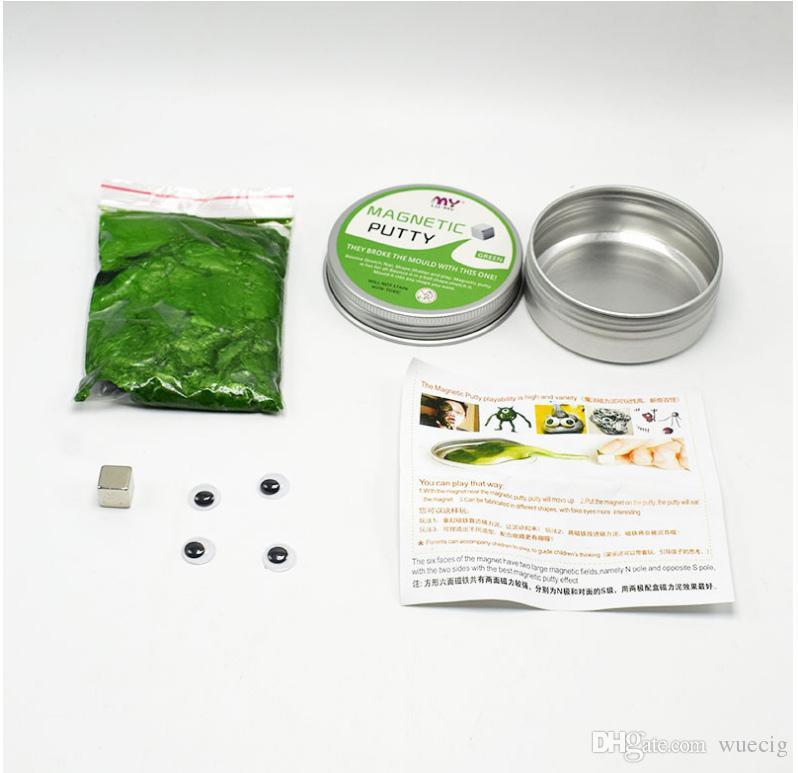 Großhandel Kreative Technologie Veränderbar Diy Magnetic Putty Cube ...