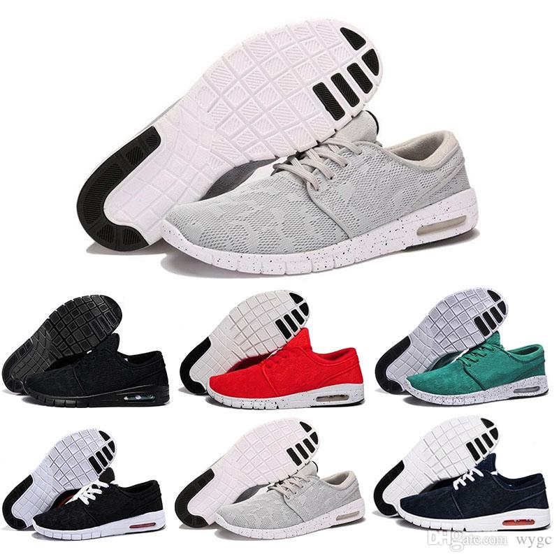 new styles 46407 60950 Acquista 2018 Nike SB Stefan Janoski Running Shoes New Sb Stefan Janoski  Scarpe Da Corsa Donna Uomo, Alta Qualità Atletica Sport Scarpe Da  Ginnastica ...