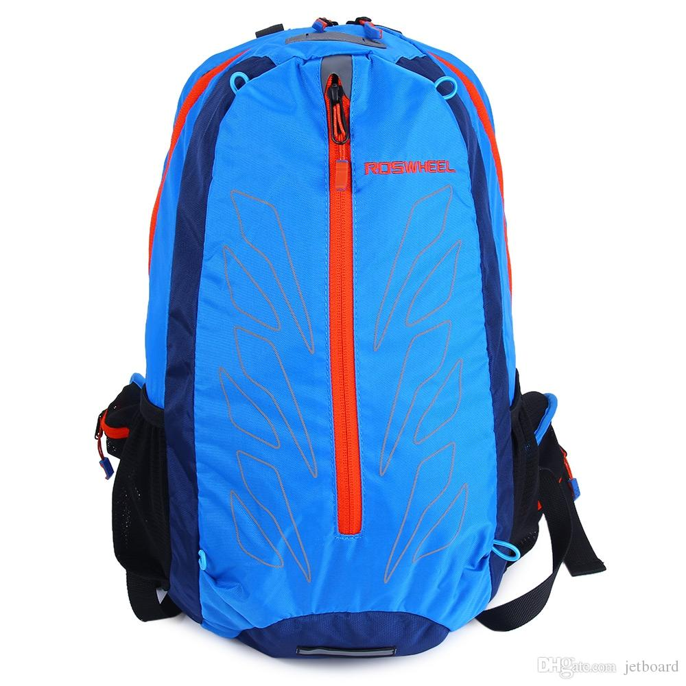 e85ae148f572 Larger Size ROSWHEEL 15L Outdoor Sport Cycling Backpack MTB Climbing Hiking  Accessories More Stable