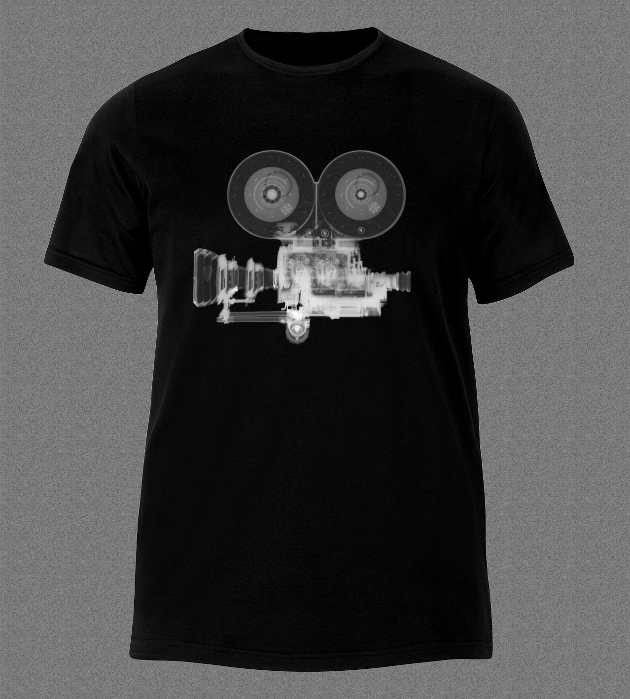 Leqemao Film Camera X Ray Movie Maker T Shirt T Shirt Fashion Casual