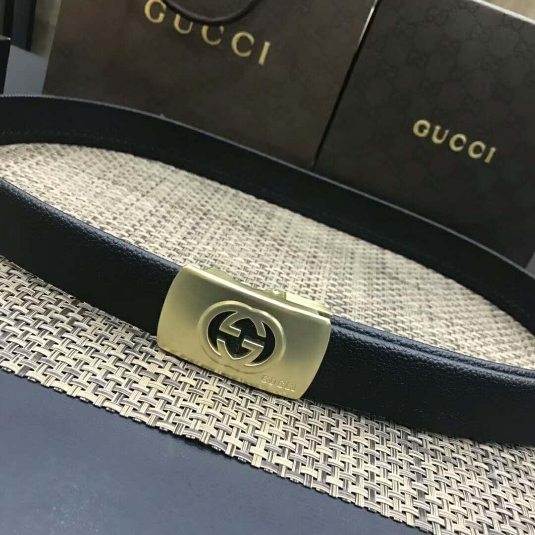 18b8dac9d 2019 New Mens Brand Belt With Original Box W/3.5cm Golden Automatic Buckle  Luxury Business Waist Belt Strap AAAA Top Quality Formal Dress Belts From  ...