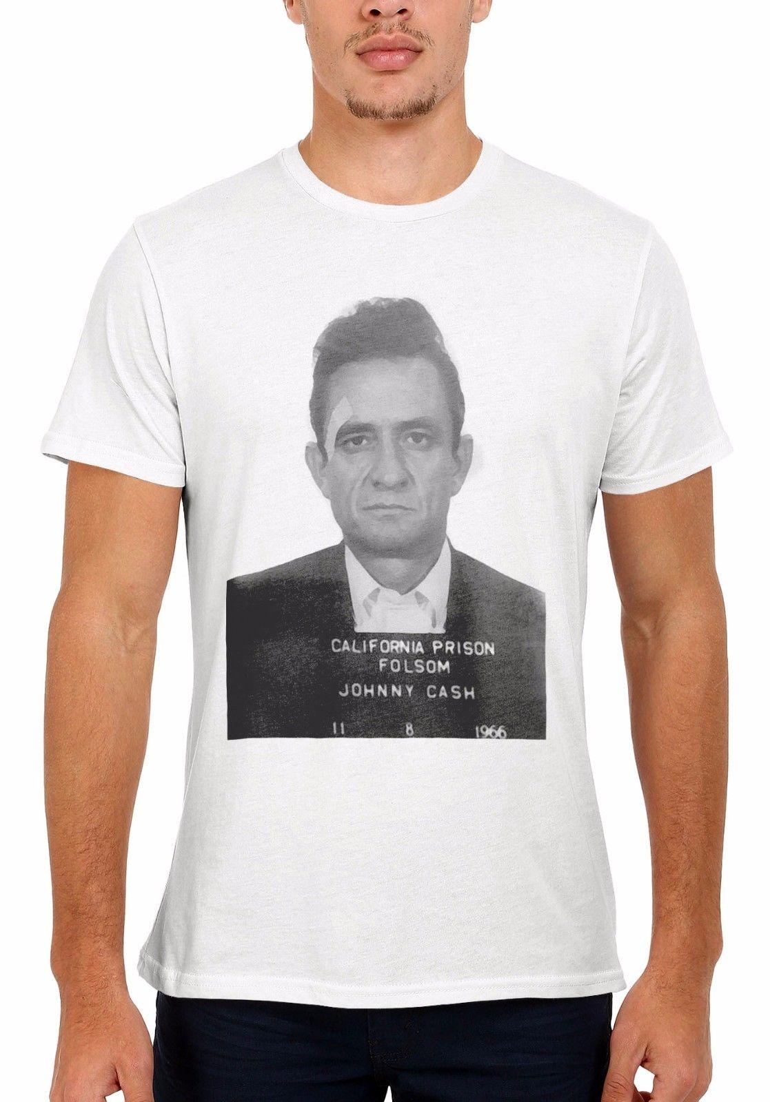 9a341381 Johnny Cash Mugshot Men Women Vest Tank Top Unisex T Shirt 2039 Short  Sleeve Round Neck T Shirt Promotion Design Your Own T Shirts Womens Shirt  From ...