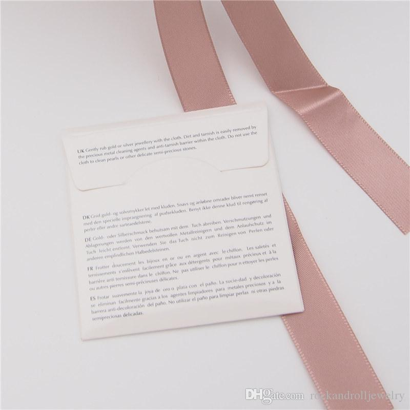 Prata pano de polimento Para Pandora 925 Sterling Prata Charme Bead Bracelet Colar moda jóias Cleaners Polish