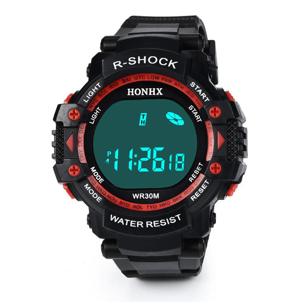 d4dac06a61eb Compre Tangnade Moda Hombres LED Impermeable Digital De Cuarzo Relojes  Fecha De Lujo Del Deporte Para Hombre Relojes De Primeras Marcas De Lujo  Skmei 20 A ...