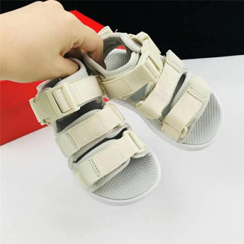 31a519c29ce7 Designer Children Shoes Summer Child Sandals Kid Shoes Fashion Brand Sandals  For Girls Boys Magic Paste Beach Shoes Child Hole Shoe Boys Neon Shoes Good  ...