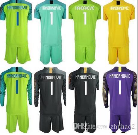 f6c58ee6eb2 ... netherlands 2018 19 soccer jerseys goalkeeper kit gk shirt 1 handanovic  goalie uniforms candreva perisic football