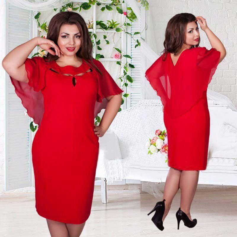 9e2855a2e184 New Autumn Vintage Women Hollow Out Cape Red Black Blue Party Dress Short  Sleeve Clubwear Beach Dresses Large Size Vestidos Women S Dresses Knit  Dresses For ...
