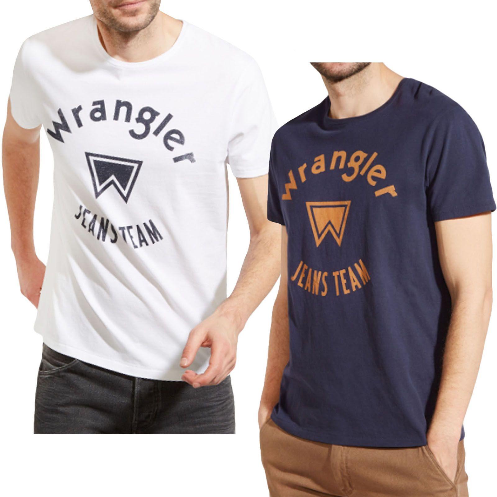 c699e54c Wrangler Jeans Team Mens Short Sleeve Crew Neck Cotton T Shirt Tee Top  Funny Unisex Casual Tee Gift Design Tee Shirts T Shirt Funny From  Tshirtsinc, ...