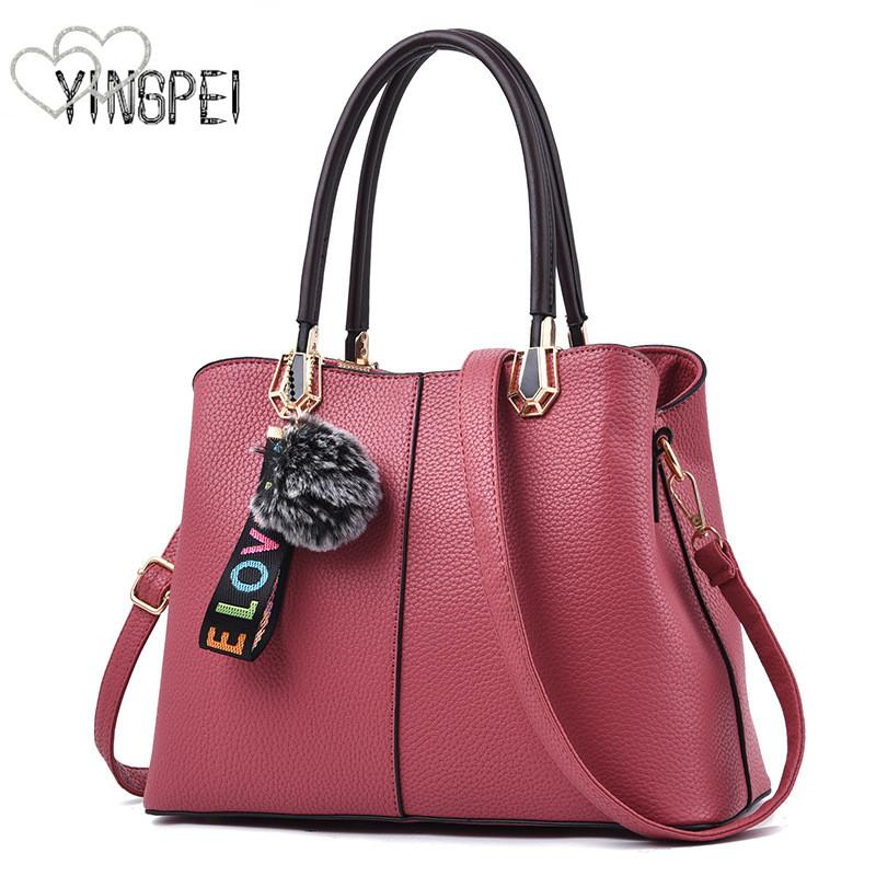07e08f71c79 Women Bag Designer New Fashion Casual Women S Handbags Luxury Shoulder Bag  Quality PU Brand Tassel Korean Style Large Capacity Laptop Bags For Women  Duffel ...