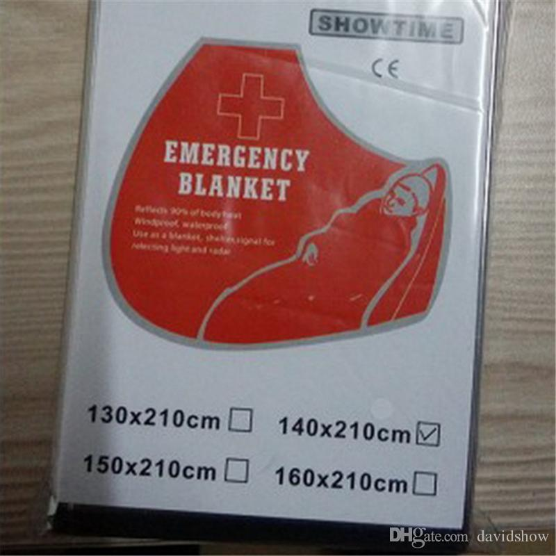 Outdoors emergency blanket, emergency blanket, lifesaving and insulation, sunscreen 140*210, outdoor living supplies