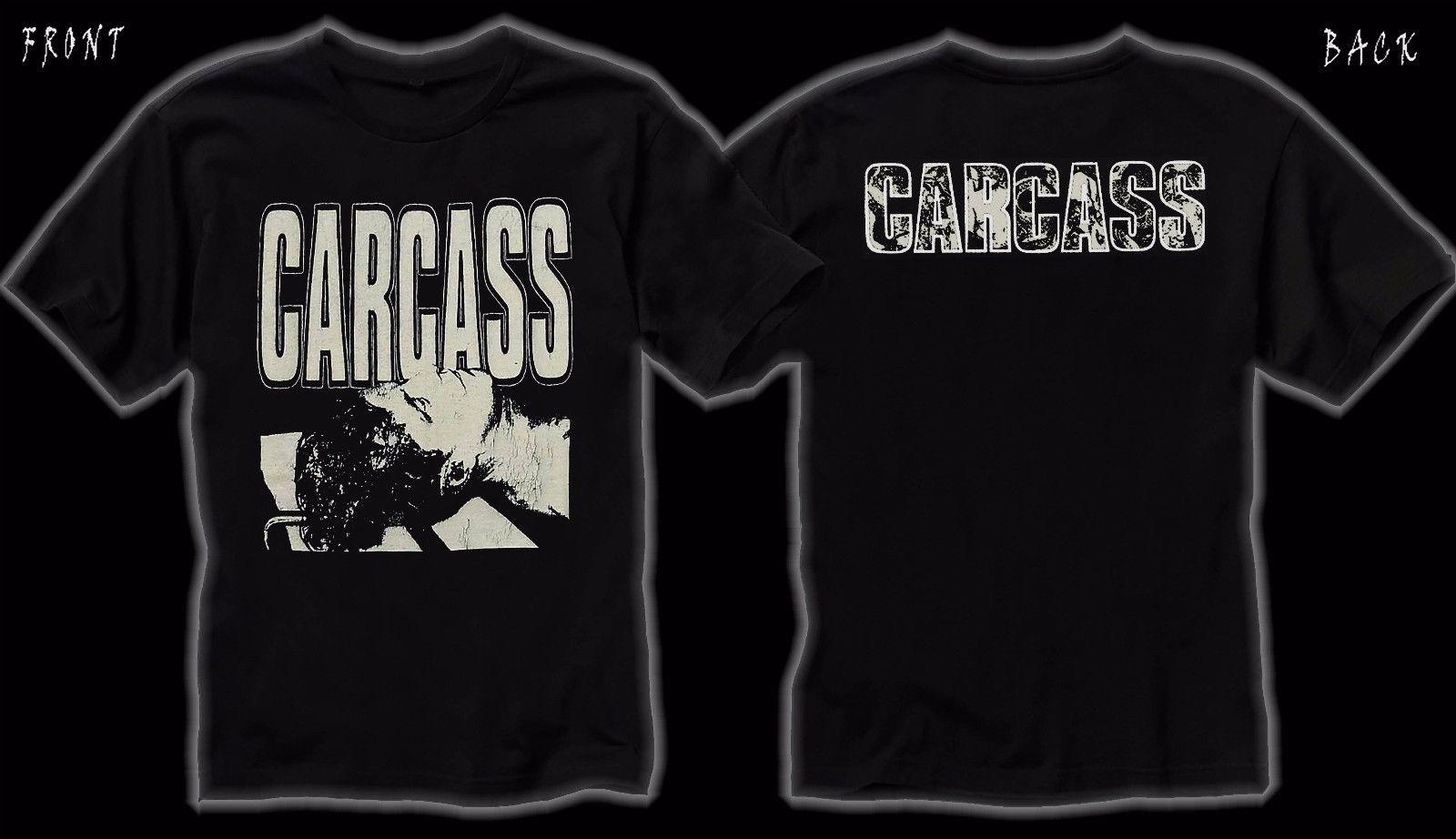 CARCASS: despiértate y huele el ... Carcass, T_shirt-SIZES: S to 6XL