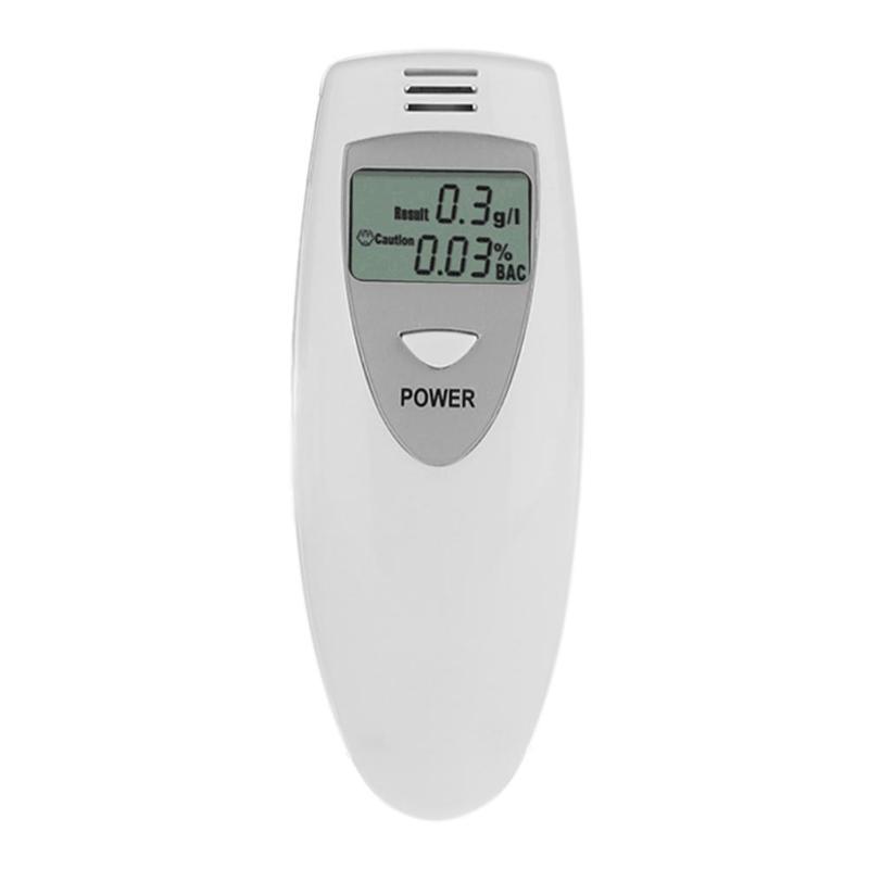 Portable Pocket LCD Digital Alcohol Breath Tester Breathalyzer Detector  Analyzer Professional Alcohol Analyzer TesterTool