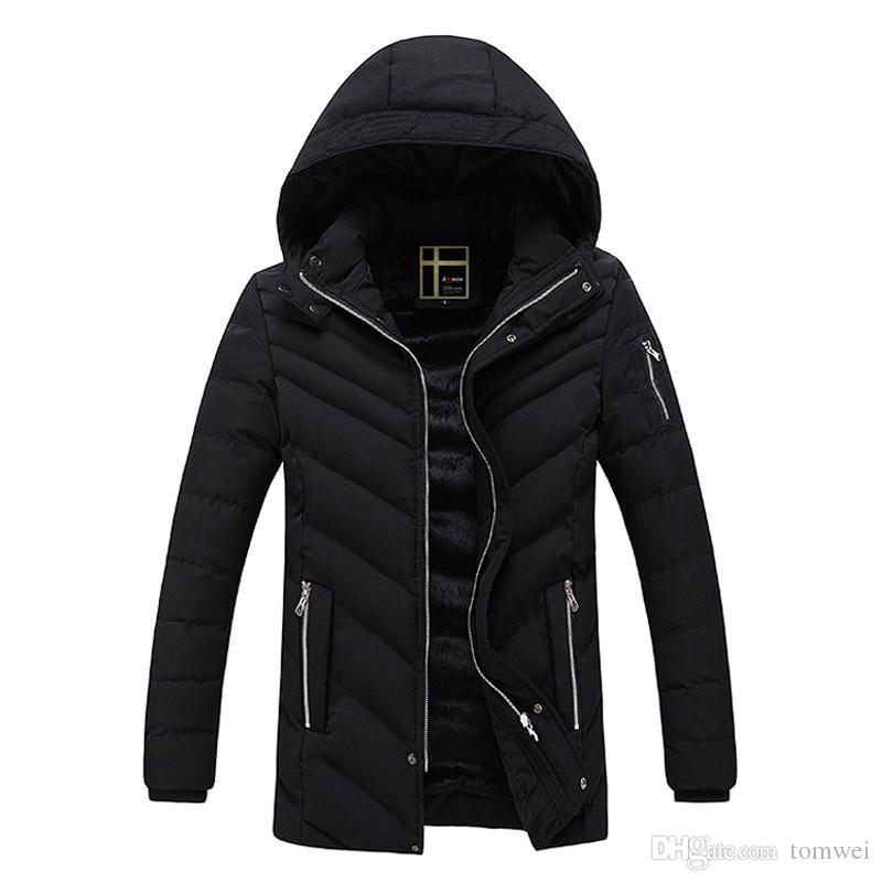 Abrigo negro nieve