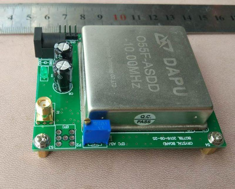10MHz OCXO constant temperature crystal vibration frequency reference,  reference plate GPS