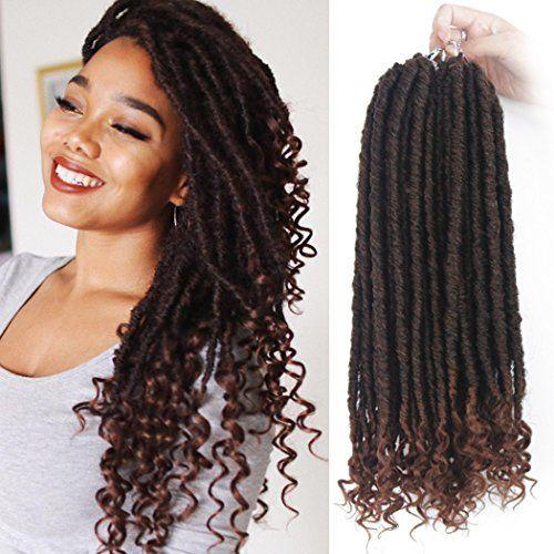 2019 Bobbi Boss Nu Locs Synthetic Braiding Hair 18inch Crochet Hair