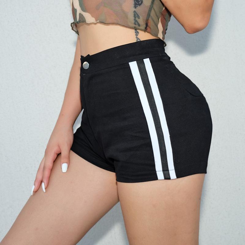 c9910c545b4 2019 Casual Korean Fashion Ladies Feminino Short Pants High Waisted Short  Shorts Sexy Bodycon Women Black Spandex Shorts From Ziron, $20.35 |  DHgate.Com