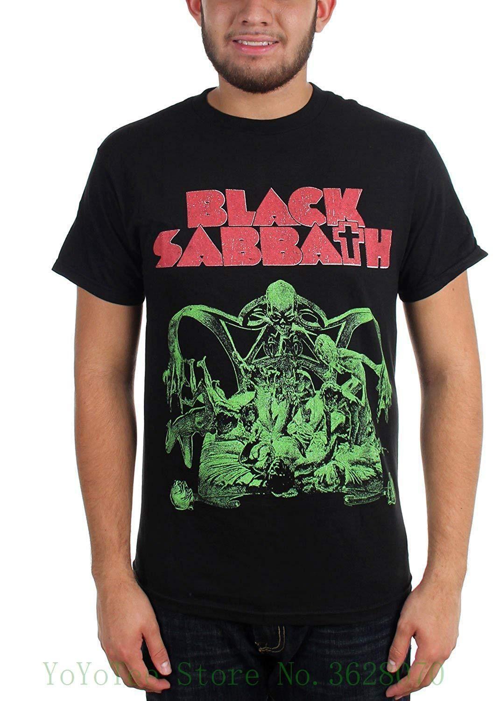 601a0e2e2 Black Sabbath Mens Sabbath Bloody Sabbath Cutout T Shirt 100% Cotton Short  Sleeve Summer T Shirt Slogan T Shirts Vintage T Shirt From Lijain91, ...