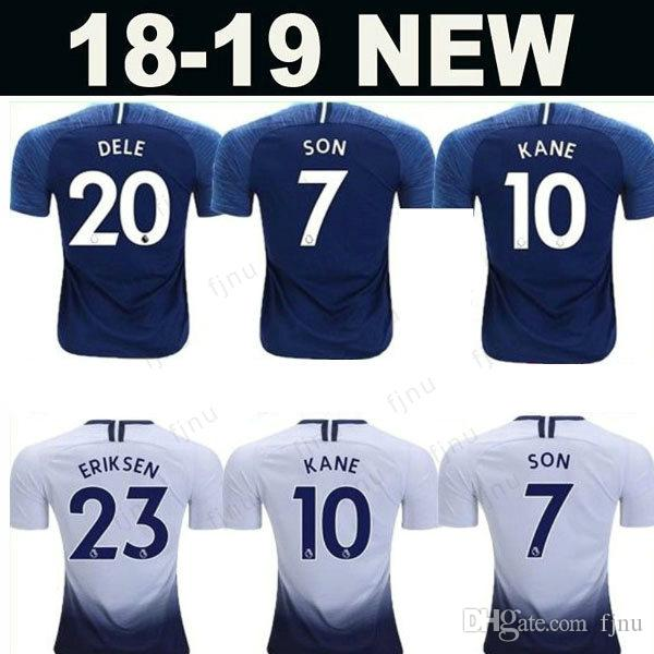 43f06945c MENS SPURS HOME Away Third Football Shirt 2018 2019 KANE SON ERIKSEN ...