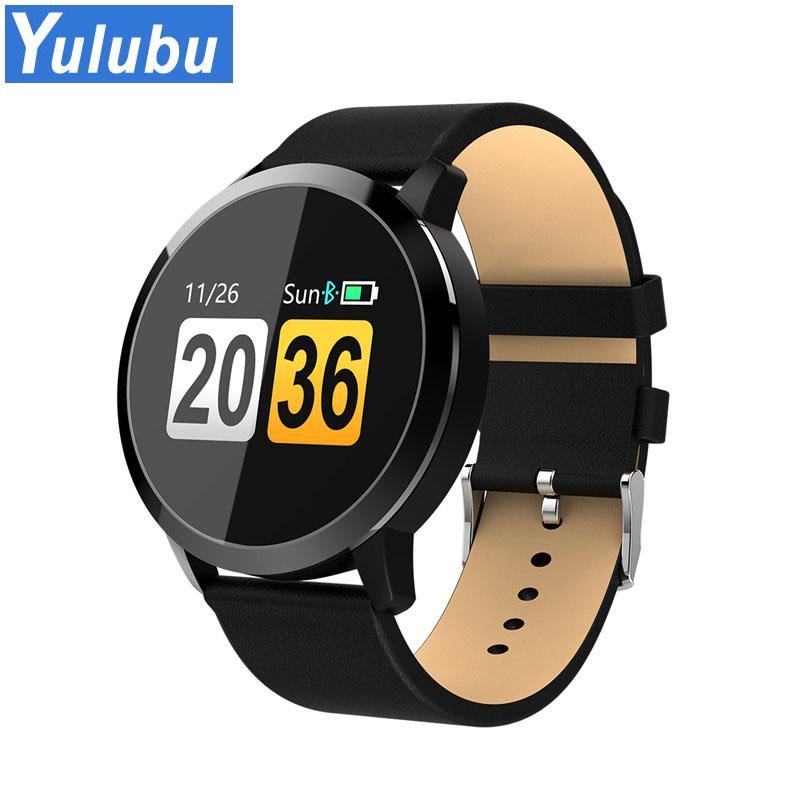 ac80eb98ec8d Modelos Celulares Yulubu 2018 Q8 Touch Screen Smartwatch Frecuencia  Cardíaca Reloj Inteligente Hombres Mujeres Deporte Impermeable Fitness  Dispositivos ...