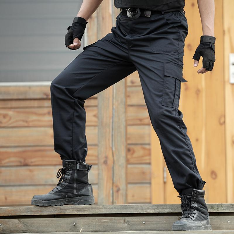 a4526b8fa71 2019 Cargo Pants Men Working Pant Tactical Combat Pants Baggy Pantalones  SWAT Loose Trouser Mens Army Overalls Sweatpants From Shipsoon