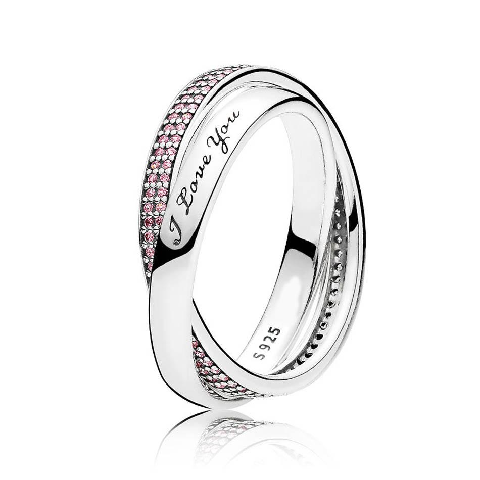 2019 Authentic S925 Sterling Silver Women Jewelry Lady Ring Girl