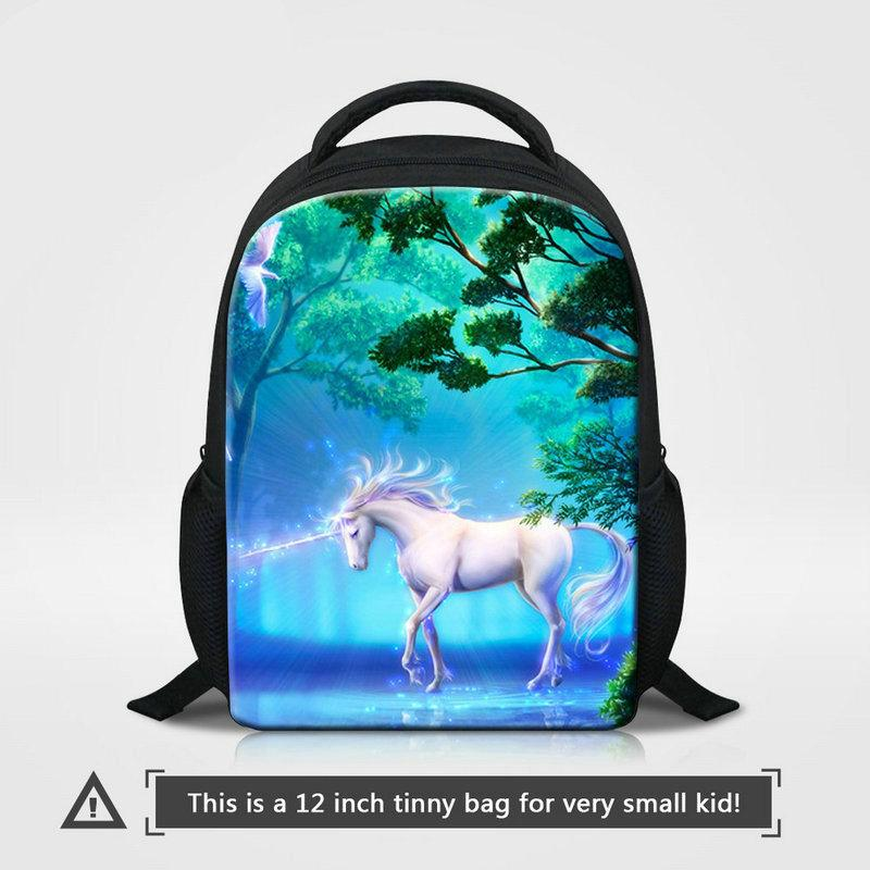 92962b350559 Factory Direct Wholesale School Backpack For Little Girl Boy Personalized  Design Unicorn Printed Bookbags Children 12 Inch Kindergarten Pack