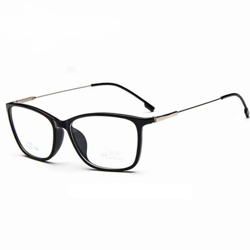 bdb930af4ba 2019 Fashion Women Cat Eye Glasses Frames Cat s Eye Clear Eyeglasses Ladies  Spectacles Frame Retro Women s Glasses Brand Designer From Haydene