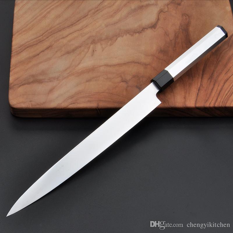 Wholesale 10pcs per Lot Razor Sharp Sushi Knife 240mm ,Profession  Yanagiba,Kitchen Slicer Knife, Japanese knife, Salmon Knife Wedding gift