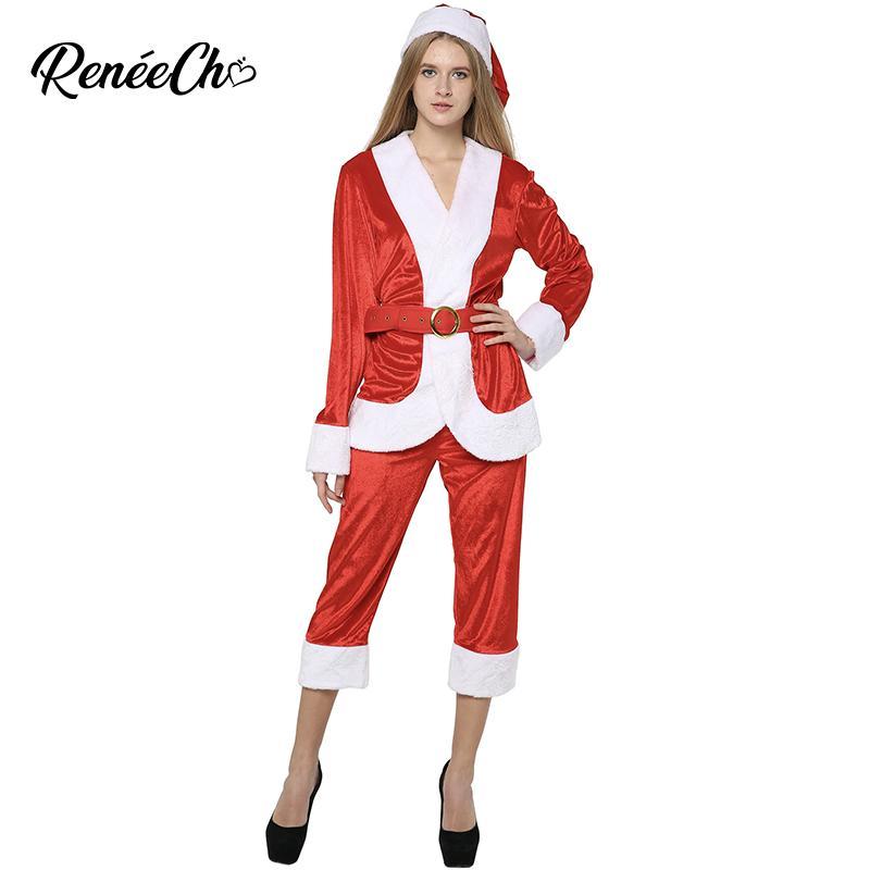 Nouvelle Femme Acheter Père 2019 Costume Dame De Noël 5qwPxF8q