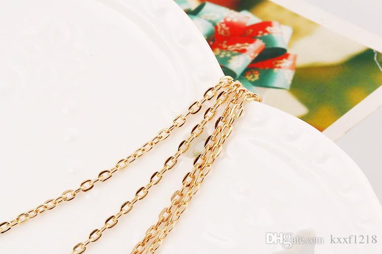 Avrupa ve Amerika Birleşik Devletleri vintage metal tüyleri püskül sequins çok katmanlı kadın kolye kolyeler takı aksesuarları