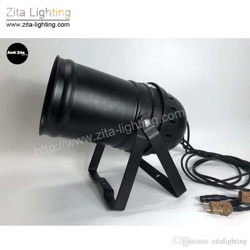 / Zita Lighting NOVITÀ LED Zoom Par Lights Alta potenza 200W Par Cans 30Meter Range DMX512 Wash Stage Lights DJ Disco Theater