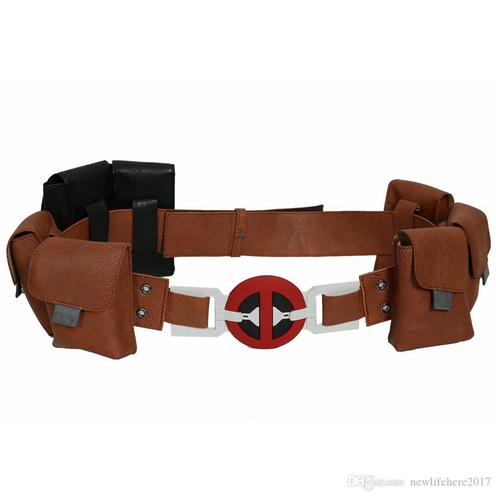 Deadpool 2 Belt Cosplay Deadpool Belt Accessory Deadpool 2 Belt Halloween Cosplay Costume Accessory For Adult