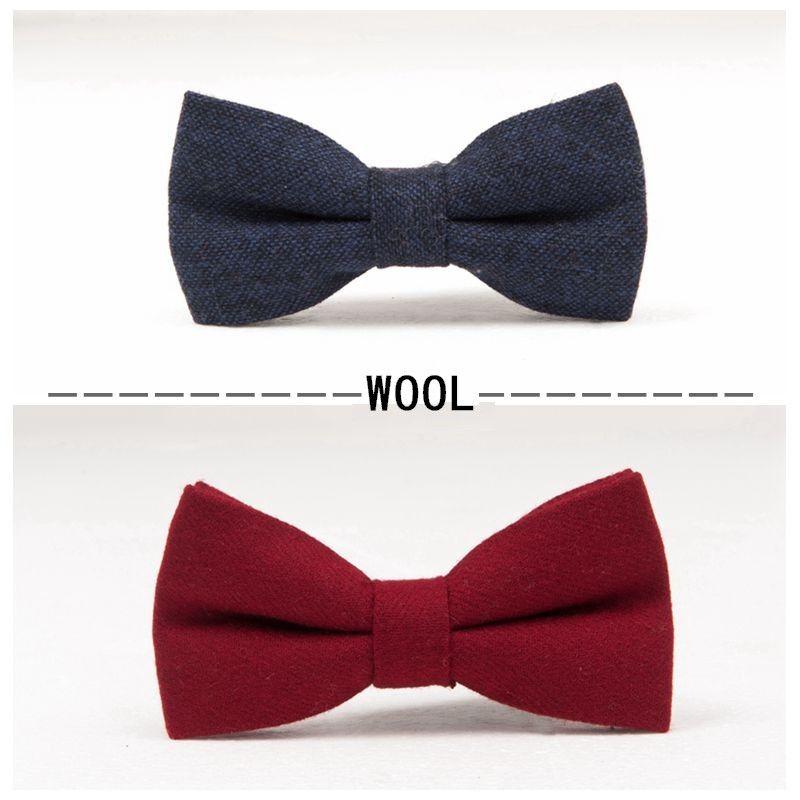 Bowtie Richmond Va >> Fashion Wool Bow Tie Finest Men S Bowtie Butterfly Business Bowknot