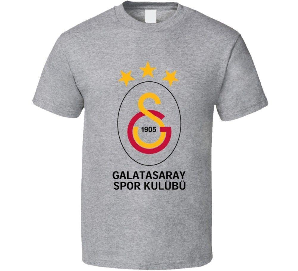 2a3377ee Galatasaray S.K. Turkish Soccer Team Football Club Super Lig Turkey T Shirt  T Shirt For Men/Boy Short Sleeve Cool Tees T Shrits Tshirts Designs From ...