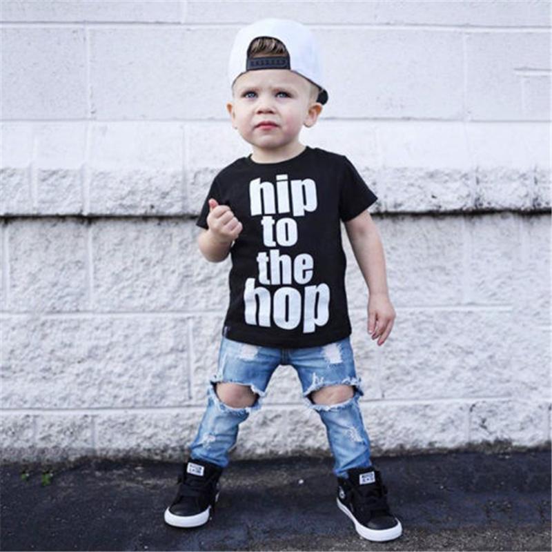 10f595d5a 2019 Pudcoco 1 6Y Kids Baby Boys Clothing Children Boys Hip Hop ...