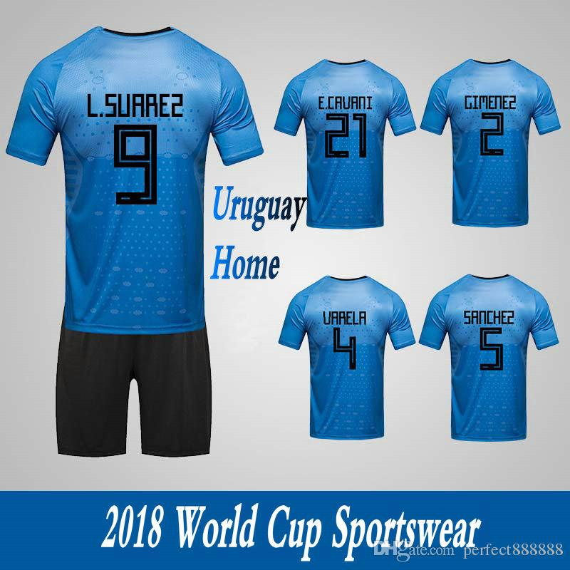 2019 Men S Clothing Tracksuits Uruguay National Team Home Football Sport  Suits 2018 World Cup Soccer Uniform Clothes Shorts From Perfect888888 bbe4280a1
