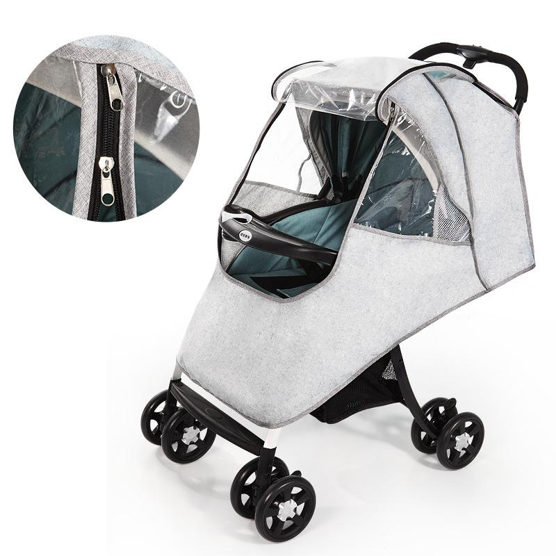 Activity & Gear Waterproof Raincoat For Stroller Dust Rain Wind Shield Cover Universal Size Transparent Ventilation Cover Baby Pram Accessories Mother & Kids