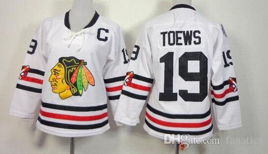 2018 2016 Winter Classic Chicago Blackhawks Jerseys Womens Ice Hockey Jersey  Embroidery Logos  19 Jonathan Toews White Jersey827 From Fanatics fd53240f6