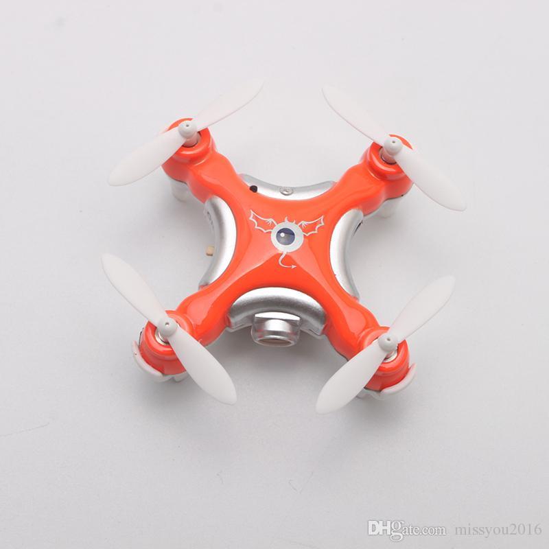 Drone With Camera 0.3MP CX-10C RC Quadrocopter 2.4G 6-Axis Gyro RC Micro elicottero giocattolo di controllo remoto bambini Mini Dron