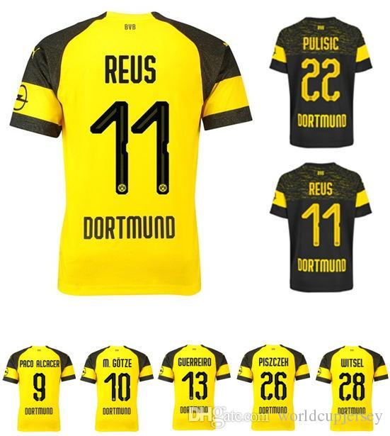 Maillot THIRD Borussia Dortmund Paco Alcacer