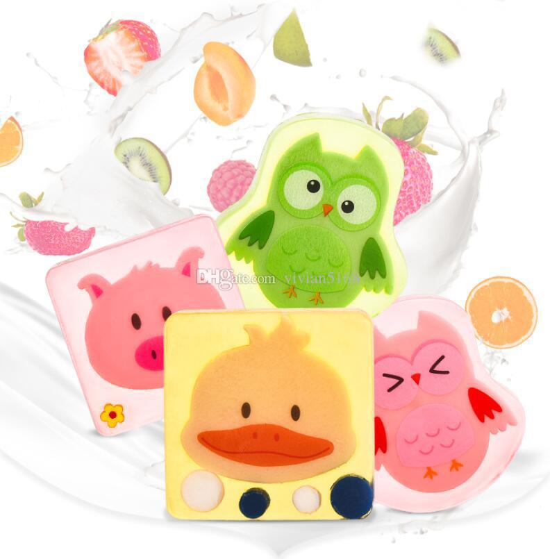 Compre 100 Natural Para Niños Dibujos Animados Aceite Jabón Hecho A