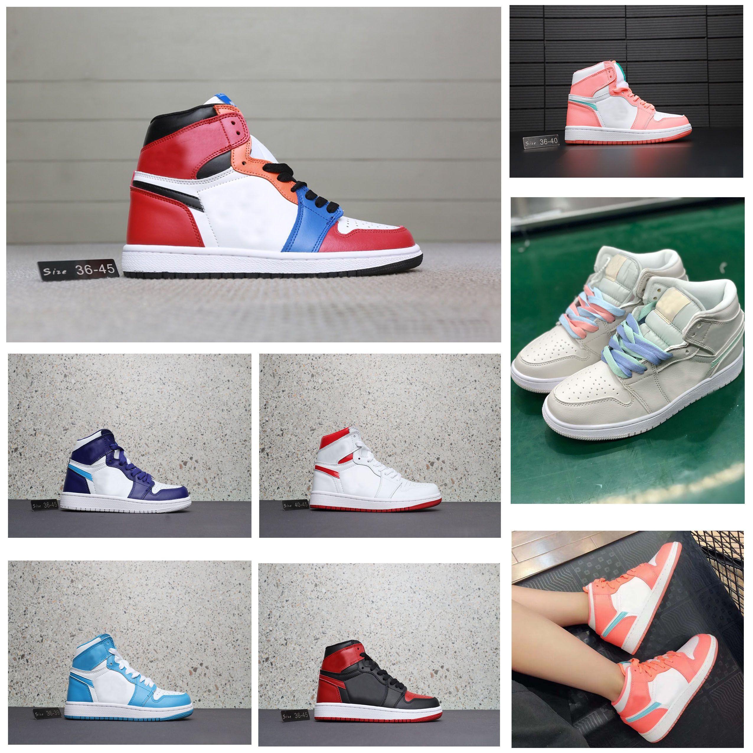 Mens Away Og Designer High Air Duck Nike Marque Jordan Mandarin Brisé Chaussures Top Basketball Shoes Shoes1s Retro Hommes 1 pUMzSVqG