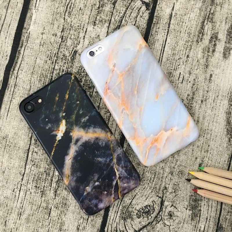 Mermer Kaya Taş Doku Desen Arka Kapak Kılıf iphone X IMD TPU Telefon Kapağı