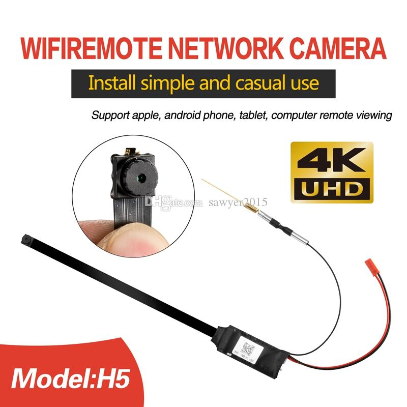HD 4k Module board mini camera with buttons wireless wifi DIY module P2P IP camera Home security Surveillance CCTV camera