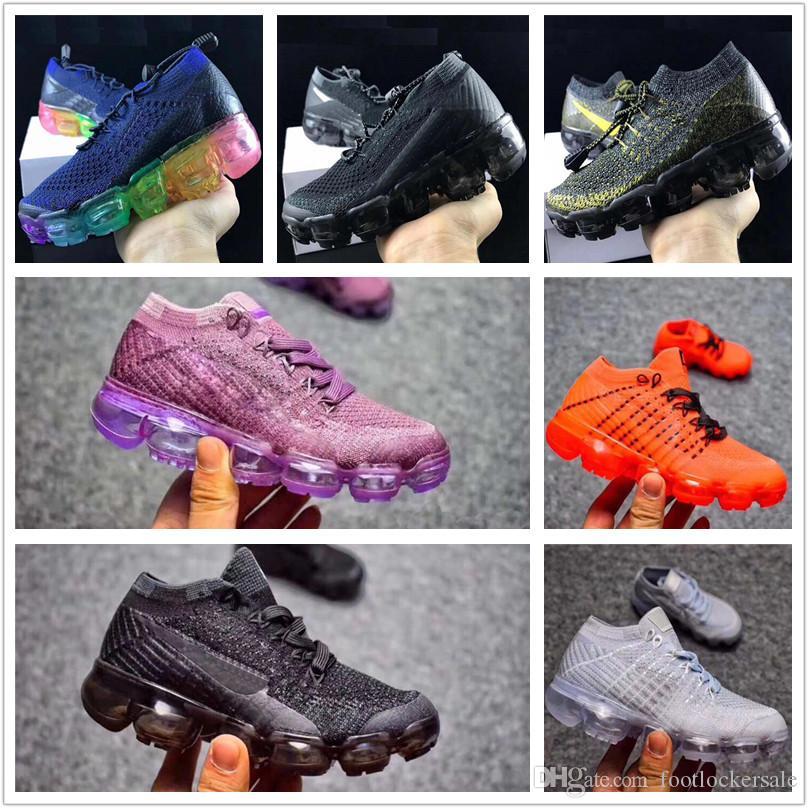Scarpe Calcetto Infant 2018 Strip Shoes Sneaker Kids Run Scarpe Sportive  All aperto Ragazze E Ragazzi Scarpe Di Alta Qualità Vendita Calda Trainer  28 35 ... e56d1f04345