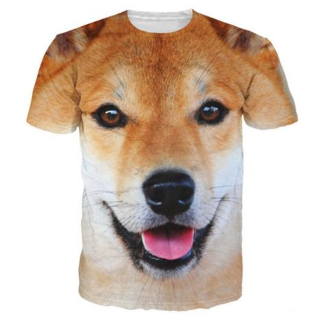 Berühmt Shiba Inu T Shirt Cute Tee Adorable Dog 3d Animal T Shirts Women @AY_92
