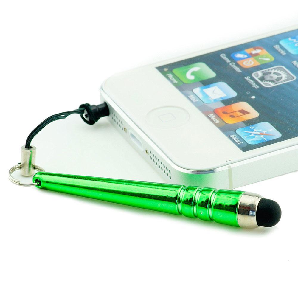 Mini penna a sfera touch screen stilo da baseball con punta stilo in gomma con spina antipolvere da 3,5 mm iphone Samsung s3 s4 galaxy note 3 ipad 3 5