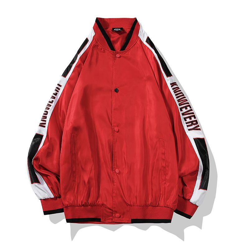 4f3a3e4974a83 Compre Otoño Hip Hop Streetwear Cremallera Hombres   Mujer Chaqueta Moda Rap  Chaquetas Color Patchwork Cazadora Chaquetas Para Hombre Ropa De La Marca  02 A ...